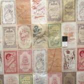 Tim Holtz PWTH013 Foundations Photo Card Multi Cotton Fabric By The Yard