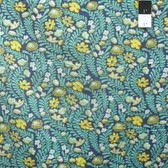 Tula Pink PWTP073 Eden Wildflower Sapphire Cotton Fabric By The Yard
