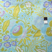 Dena Designs PWDF112 Taza Caroline Blue Cotton Fabric By The Yard