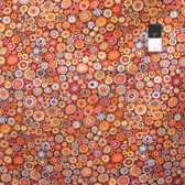 Kaffe Fassett GP20 Paperweigh​t Pumpkin Cotton Fabric By Yd