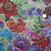 Philip Jacobs PWPJ083 Voluptuous Grey Cotton Quilting Fabric 1 1/2 Yard