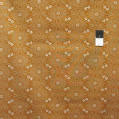 Parson Gray PWPG049 Katagami Dynasty Pumpkin Cotton Fabric By The Yard