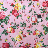 Verna Mosquera PWVM141 Fruta Y Flora Cottage Rose Rose Cotton Fabric By Y