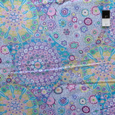 Kaffe Fassett PWGP92 Millefiore Lilac Cotton Fabric By The Yard
