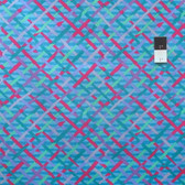 Brandon Mably PWBM037 Mad Plaid Turquoise Quilting Cotton Fabric By The Yard