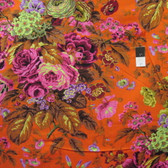 Philip Jacobs PWPJ075 Floral Delight Orange Cotton Quilting Fabric By Yard