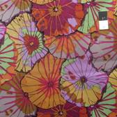 Kaffe Fassett GP29 Lotus Leaf Umber Cotton Fabric By The Yard