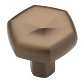 "P19024W-22​8 1 3/8"" Stratus Cabinet Drawer Knob Brushed Bronze Finish"