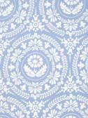 Jennifer Paganelli PWJP106 Nostalgia Figgy Blue Cotton Fabric By Yard