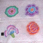 Kaffe Fassett PWGP149 Corsage White Cotton Fabric By Yd