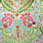 Dena Designs DF102 Kumari Garden Teja Pink Fabric By Yard
