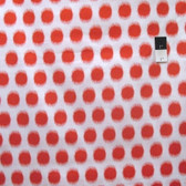 Dena Designs PWDF229 Butterfly Garden Ikat Dot Red Cotton Fabric By Yard