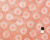 Dan Bennett DB04 Wild Garden Eggs Orange Fabric By The Yard