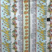 Timeless Treasures C3350 Fun Safari Stripe Multi Cotton Fabric By Yard