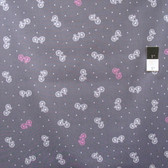 Timeless Treasures C3370 Fun Bicycles Gray Cotton Fabric By Yard
