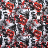 Springs Creative Marvel Ant Man Allover Red Cotton Fabric By Yard