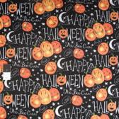 Springs Creative Halloween Boo Crew Pumpkins Fabric By Yard