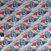 Camelot Fabrics Skylanders Full Boom Gray Cotton Quilting Fabric By Yard