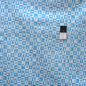 Cloud 9 Waterland Blue Certified Organic Cotton Fabric By Yard