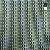 Costa De Las Flores Diamond Stripe Aqua Quilting Cotton Fabric By Yard