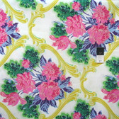 Jennifer Paganelli PWJP096 Caravelle Arcade Jessica Green Cotton Fabric By Yard