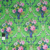 Jennifer Paganelli PWJP097 Caravelle Arcade Daisy Green Cotton Fabric By Yard