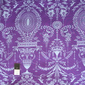 Jennifer Paganelli PWJP099 Caravelle Arcade Elyse Purple Cotton Fabric By Yard