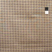 VIP Houndstooth Brown Cotton Fabric By Yard