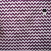 "Riley Blake Medium Chevron Purple 60"" Cotton Quilting Fabric By Yard"