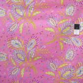 Dena Designs LIDF008 Sunshine Heather Pink Linen Blend Fabric By Yard