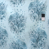 Anna Maria Horner Mod Corsage PWAH109 Observations Indigo Cotton Fabric By Yd