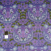Tula Pink PWTP077 Eden Crouching Tiger Amethyst Cotton Fabric By Yard