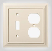 W10770-LAL Light Almond Architect Single Switch / Duplex Cover
