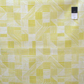 Erin McMorris PWEM088 Noteworthy Field Study Mustard Fabric By The Yard