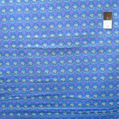 Nel Whatmore PWNW085 Ghost Verbena Blue Cotton Fabric By Yard