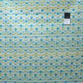 Dena Designs PWDF170 Tangier IKAT Stripe Aqua Cotton Fabric By Yard