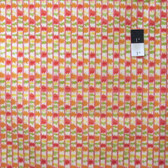 Dena Designs PWDF170 Tangier IKAT Stripe Orange Cotton Fabric By Yard