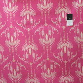 Tina Givens PWTG172 Feather Flock Bird Castle Fuchsia Cotton Fabric By Yd