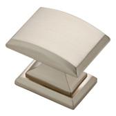 "P32943W-SN-U1 1 1/4"" Satin Nickel Architectural Cabinet Drawer Knob 10 Pack"