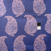 Victoria and Albert PWVA053 Bhandari Varanasai Indigo Cotton Fabric By Yard