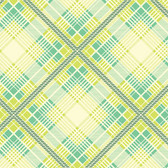 Heather Bailey Up Parason PWHB049 Summer Plaid Turquoise Cotton Fabric By Yard