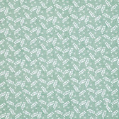 Marjolein Bastin PWMB016 Marjolein'​s Garden Scattered Blossom Teal Fabric By Yd