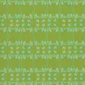 Nel Whatmore PWNW079 Rosealea Flower Braid Green Cotton Fabric By Yard