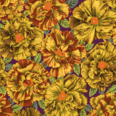 Philip Jacobs PWPJ061 Bouffant Brown Cotton Quilting Fabric By Yard
