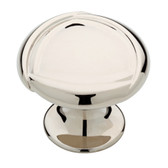 "P27762-PN Polished Nickel 1 1/2"" Emmy Cabinet Drawer Knob"