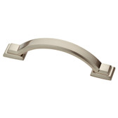 """Liberty P32945-SN 3"""" Satin Nickel Architectural Cabinet Drawer Pull 5 Pack"""