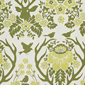 Joel Dewberry Birch Farm SAJD025 Antler Damask Sage HOME DECOR Fabric By Yard