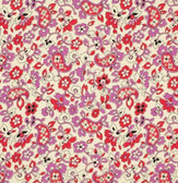 Denyse Schmidt CDDS002 Chicopee Paisley Red Corduroy Cotton Fabric By Yard