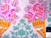 Kaffe Fassett GP79 Stencil Lilac Cotton Quilting Fabric By The 15 Yard Bolt
