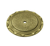 "Liberty P775B0C 2 1/2"" Sundial Cabinet Drawer Backplate Antique Brass Finish"